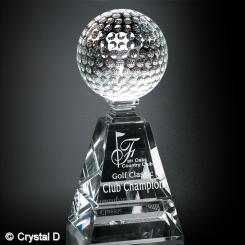 """Golf Pyramid Award 8"""" Image"""