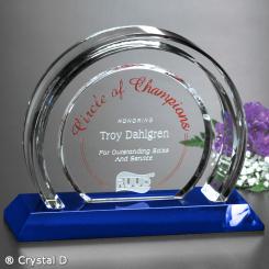 "Halo Indigo Award 7-1/4"""