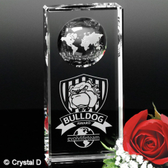 "Kendall Global Award 6"" Image"