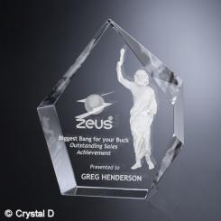 """Larsmont Award 9-1/4"""" Image"""