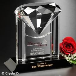 """Opulence Award 6-3/4"""""""