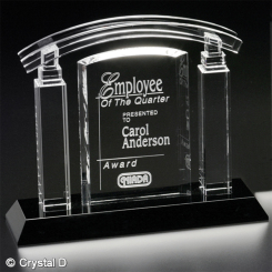 "Portico Award 7-1/2"" Image"