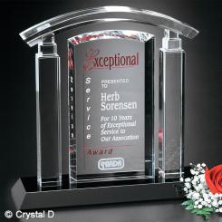 "Portico Award 8-3/4"" Image"