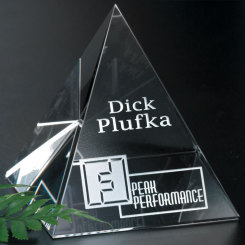 "Pyramid Award 3-1/4"" Image"