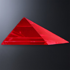 Red Triangle Gala Accent Image