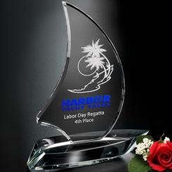 "Sailboat Award 8"" Image"