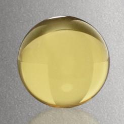 """Sphere - Yellow 1-1/2"""" Dia. Image"""