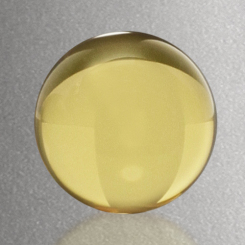"""Sphere - Yellow 1-1/4"""" Dia. Image"""