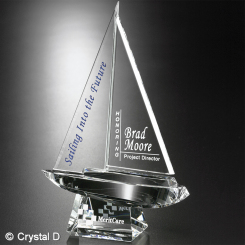 "Spinnaker Award 8"" Image"