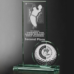 "Sports Tower Award 8-1/2"" Image"