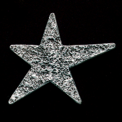 Star Pewter Accent Image