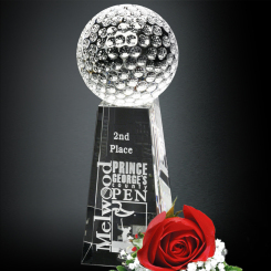 "Tapered Golf Award 8"" Image"