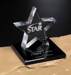 """Tapered Star on Base 5"""""""