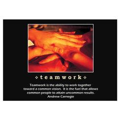 Teamwork Inspiration Card Image