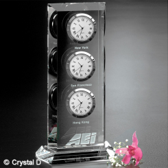 "Trilogy Clock 9"" Image"