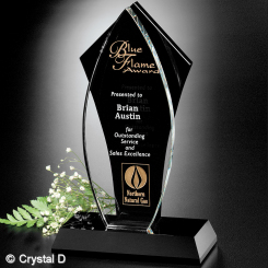 """Tuxedo Award™ Flame 10"""" Image"""