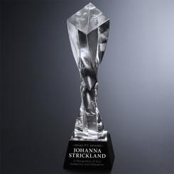 "Twisted Diamond Optical Award 11"""