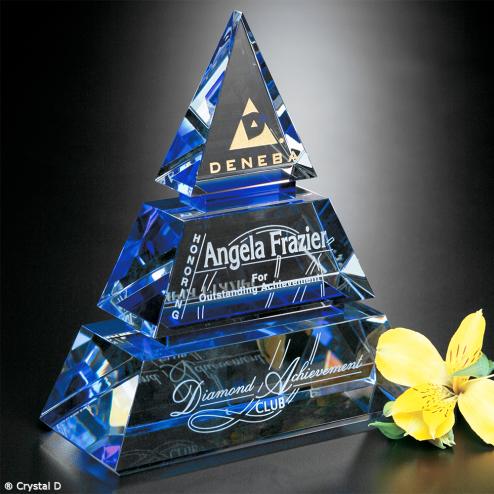 """Accolade Indigo Pyramid 8"""""""