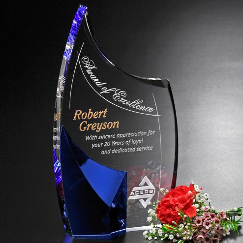 "Allure Indigo Award 8-1/2"""