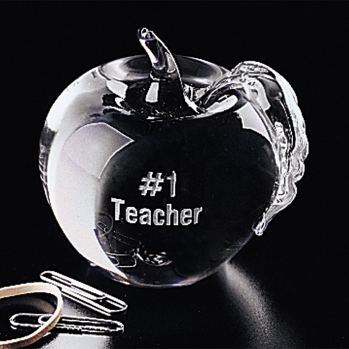 """Apple Paperweight 3-1/4"""""""