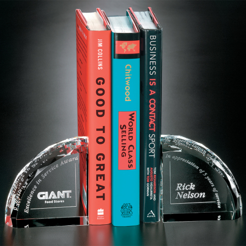"""Arch Bookends 4"""""""