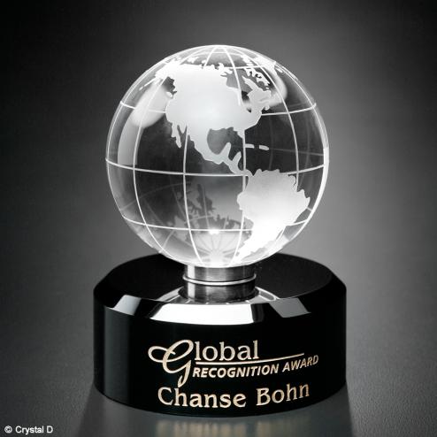 """Award In Motion® Globe 4-3/4"""""""