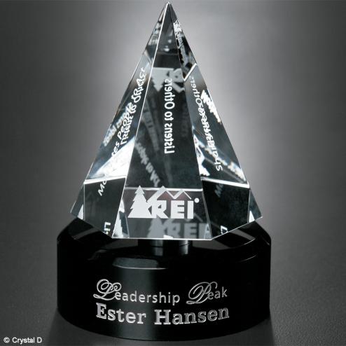 "Awards In Motion® Hexagon 6"""