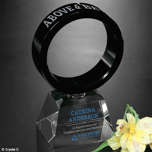 Awards In Motion® Ring 8""
