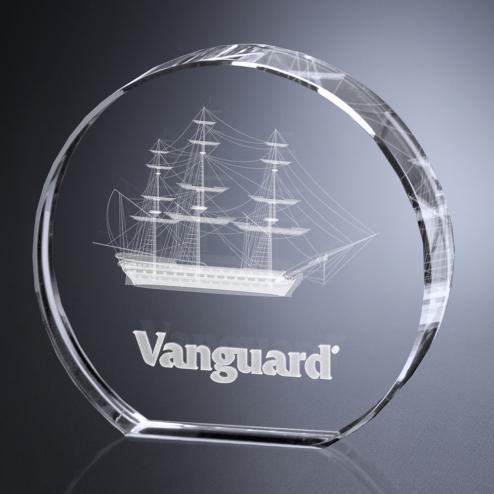 """Circlet Award 2-3/4"""" Dia."""