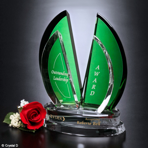 Flight Emerald Award 8""