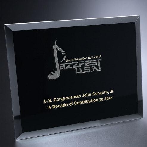 "Illusion Black Award 8"" x 10"""