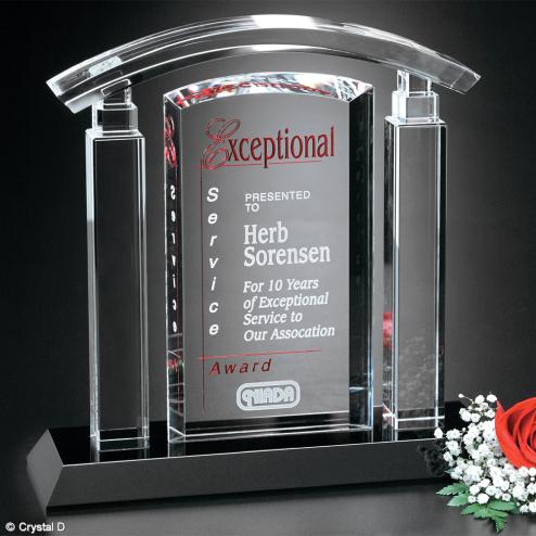 """Portico Award 8-3/4"""""""