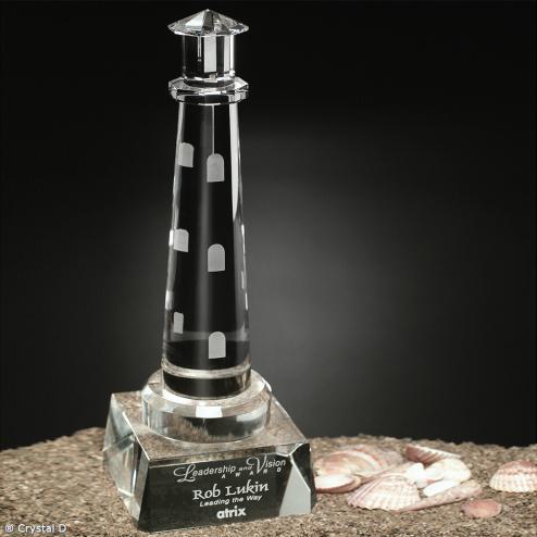 "Spirit Rock Lighthouse 10-3/4"""