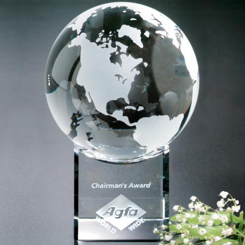 "Stratus Globe 4"" Dia."