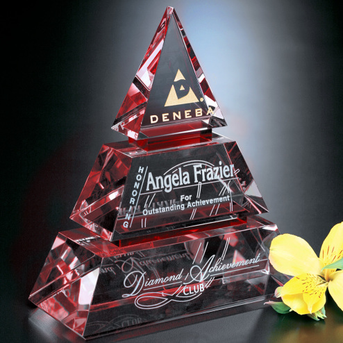 "Accolade Ruby Pyramid 7"""