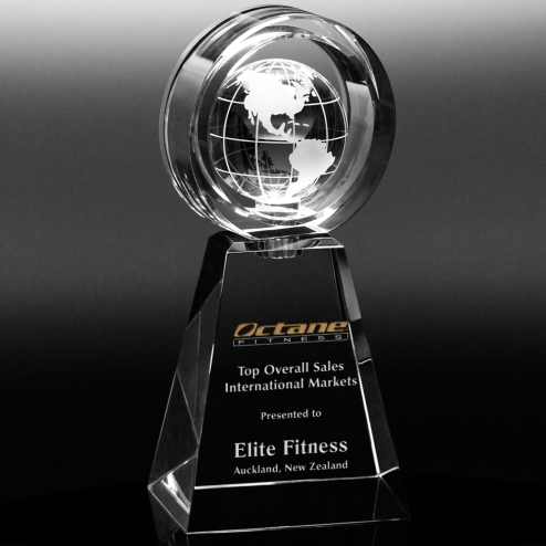 Awards In Motion® Global Ring 11""