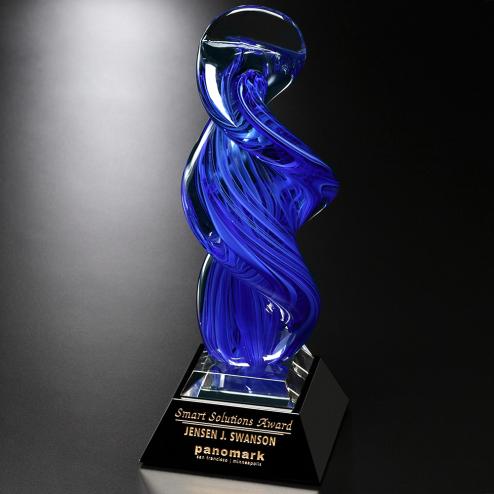 """Blue Whirlwind Award 13-3/4"""""""