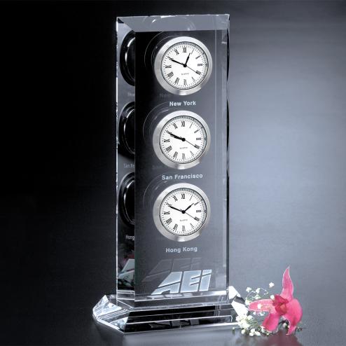 "Trilogy Clock 9"""